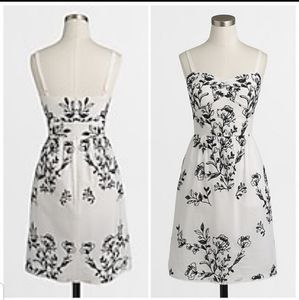 J. Crew Collection NWT white embroidered dress